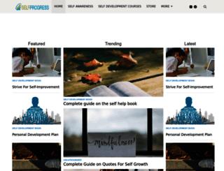 selfprogress.net screenshot