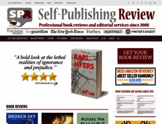 selfpublishingreview.com screenshot