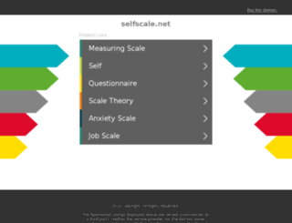 selfscale.net screenshot