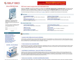 selfseo.com screenshot
