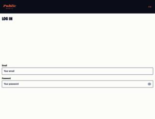 selfserve.publicmobile.ca screenshot