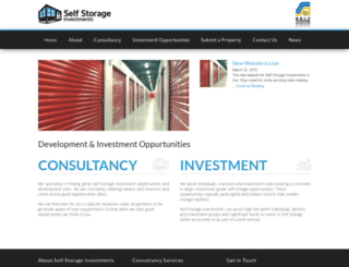 selfstorageinvestments.com.au screenshot