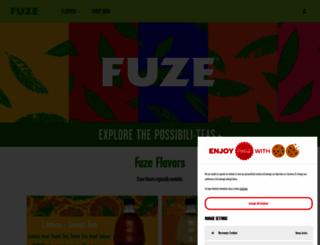 selft.fuzebev.com screenshot