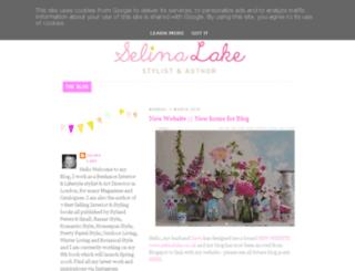 selinalake.blogspot.be screenshot