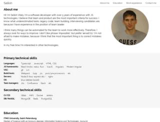 selkinvitaly.ru screenshot