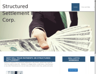 sell-a-structured-settlement.net screenshot