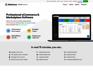sellacious.com screenshot