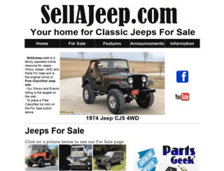 sellajeep.com screenshot