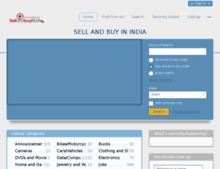 sellandbuyindia.com screenshot