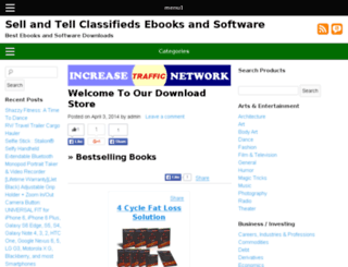 sellandtellclassifieds.com screenshot