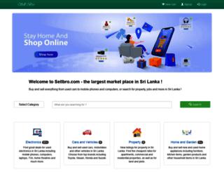 sellbro.com screenshot