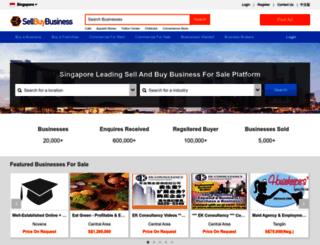 sellbuybusiness.com screenshot