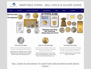 sellcoinssandiego.com screenshot