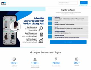 seller.paytm.com screenshot