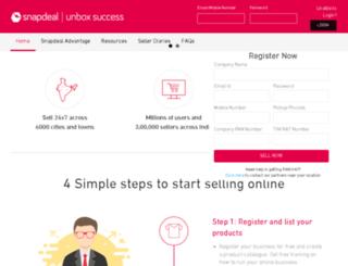seller.snapdeal.com screenshot