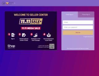 sellercenter.shop.com.mm screenshot
