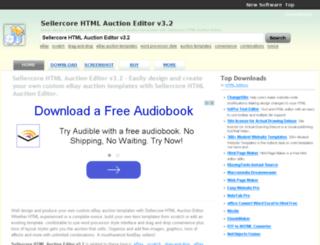sellercore-html-auction-editor-v3-2.com-about.com screenshot