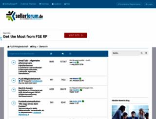 sellerforum.de screenshot