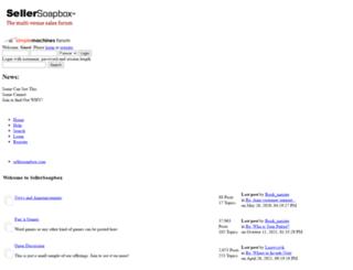 sellersoapbox.com screenshot