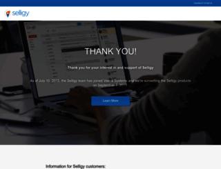 selligy.com screenshot