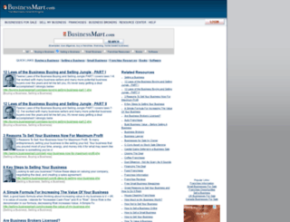 selling.businessmart.com screenshot
