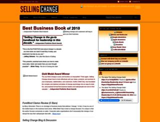 sellingchange.com screenshot