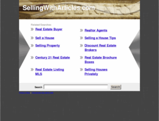 sellingwitharticles.com screenshot