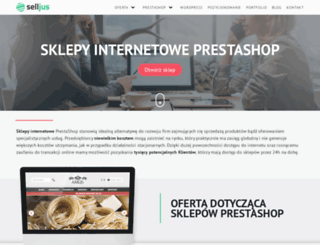selljus.pl screenshot
