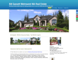 sellmyhomeinmetrowestma.com screenshot