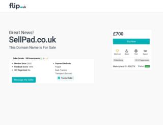 sellpad.co.uk screenshot