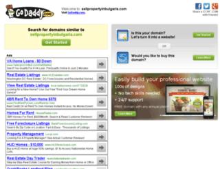 sellpropertyinbulgaria.com screenshot