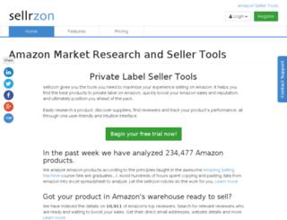 sellrzon.com screenshot