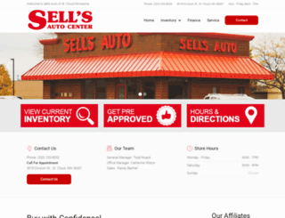 sellsauto.com screenshot