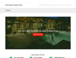 selltexaspropertyfast.com screenshot