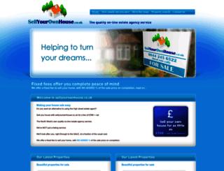 sellyourownhouse.co.uk screenshot
