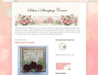 selmasstampingcorner.blogspot.de screenshot