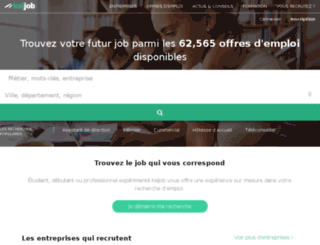 selpro.site-recrutement.com screenshot