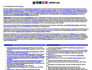 seltzer.org screenshot
