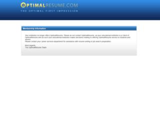 selu.optimalresume.com screenshot