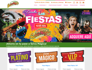 selvamagica.com.mx screenshot