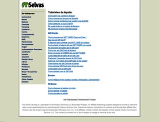 selvas.net screenshot