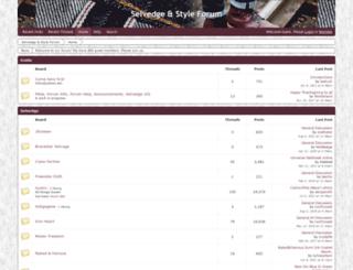 selvedgestyle.com screenshot