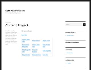 sem-answers.com screenshot