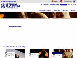semainedelacritique.com screenshot