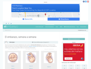 semanas.elembarazo.net screenshot