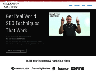semanticmastery.com screenshot