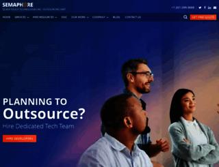 semaphore-software.com screenshot