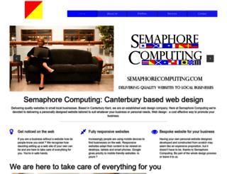 semaphorecomputing.com screenshot