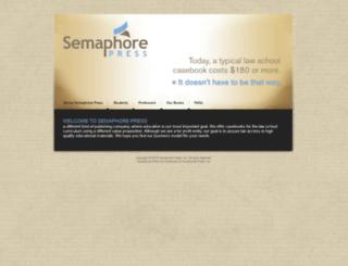 semaphorepress.com screenshot