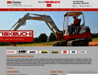 semcogroup.com.au screenshot